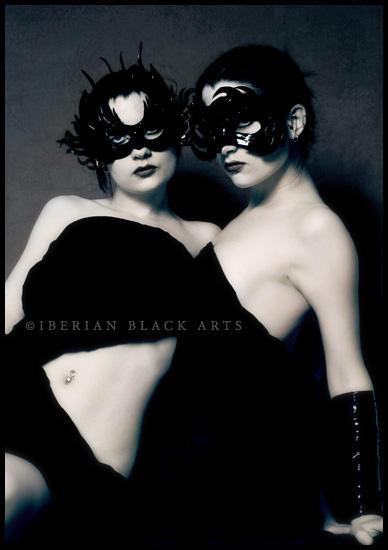 Madame Khufu masked twins by ladymorgana