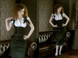 Corsetted WaistCoat by ladymorgana