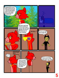 Lost In The Forest Page 5 by goldenbrush94