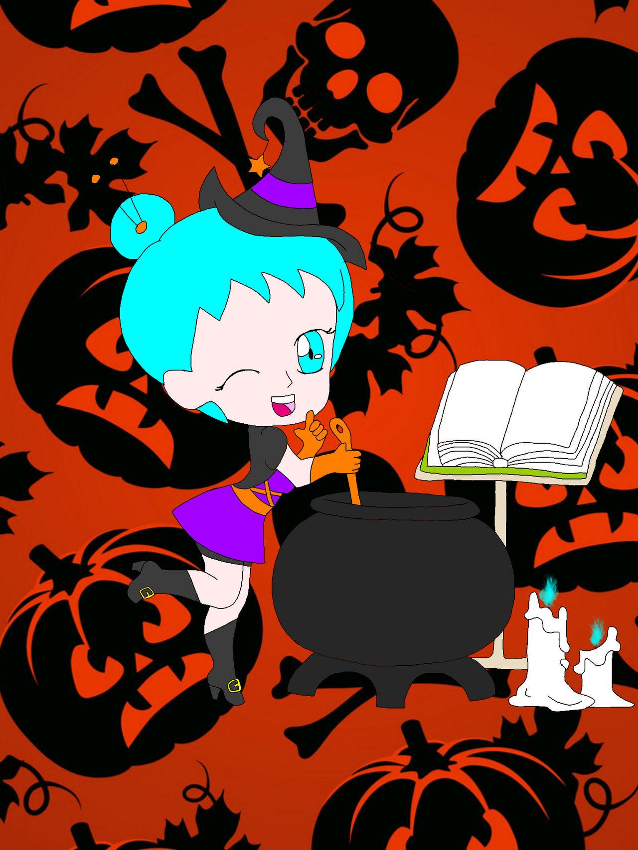 Sailor sun Halloween chibi Osana takashi