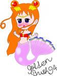 Sailor sun mermaid form by goldenbrush94