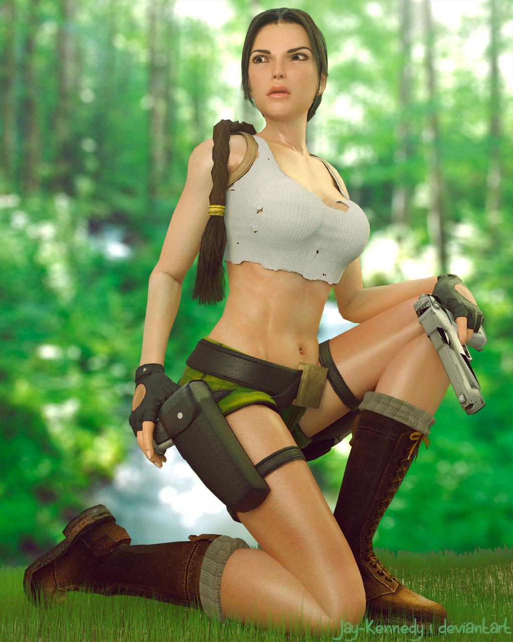 Sexy lara croft naked xxx videos