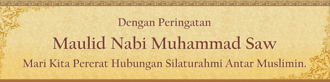 Spanduk Maulid Rasulullah Saww by zan-zany