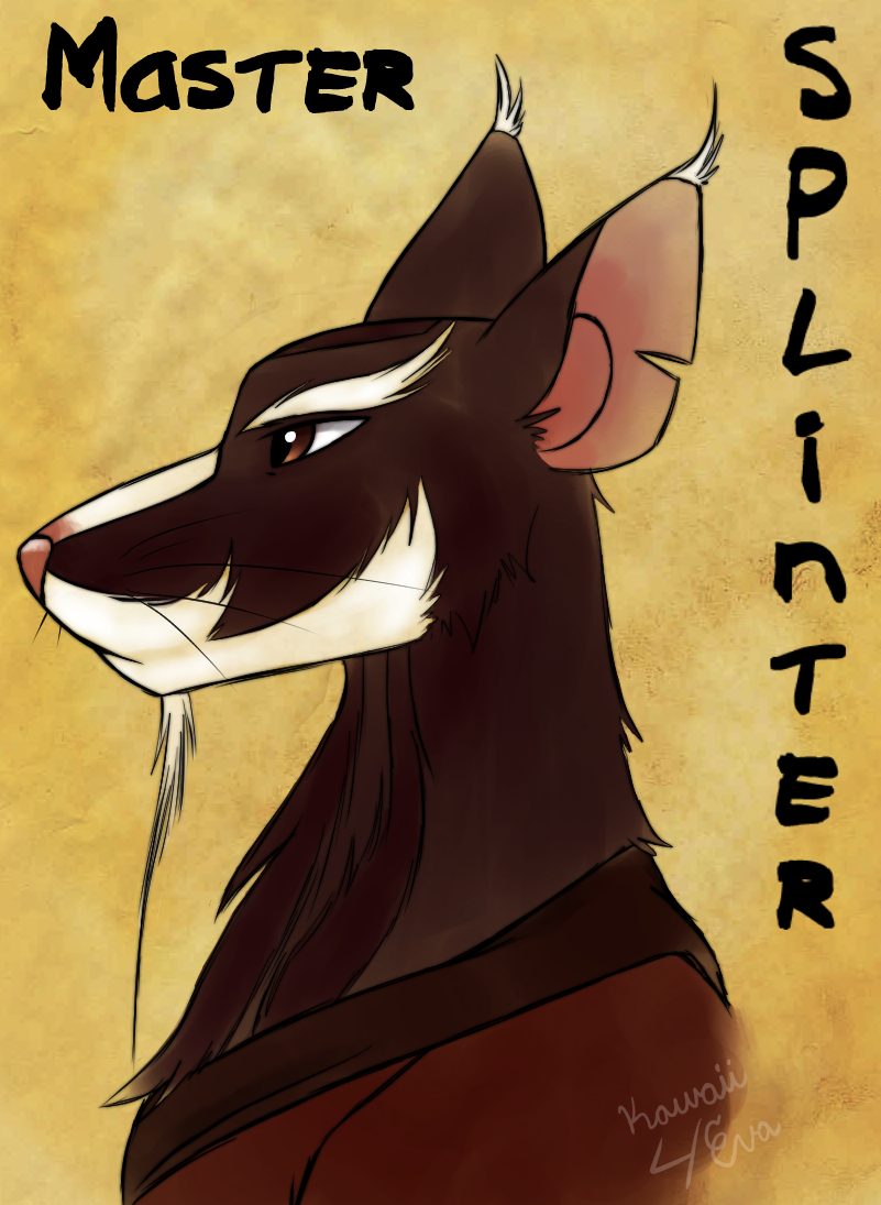 Master Splinter by Kawaii4eva on DeviantArt