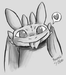 Toothless by Kawaii4eva