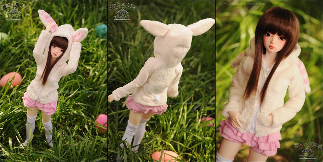 FS: Milk Bunny Hoodie by kuroi-carousel