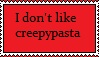 Anti-creepypasta stamp by Gallerica