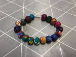 Coloured bracelet 26 by Gallerica