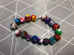 Coloured bracelet 27 by Gallerica