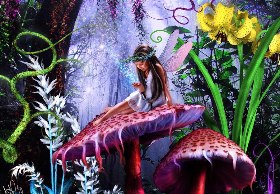 magic mushroom art - photo #39