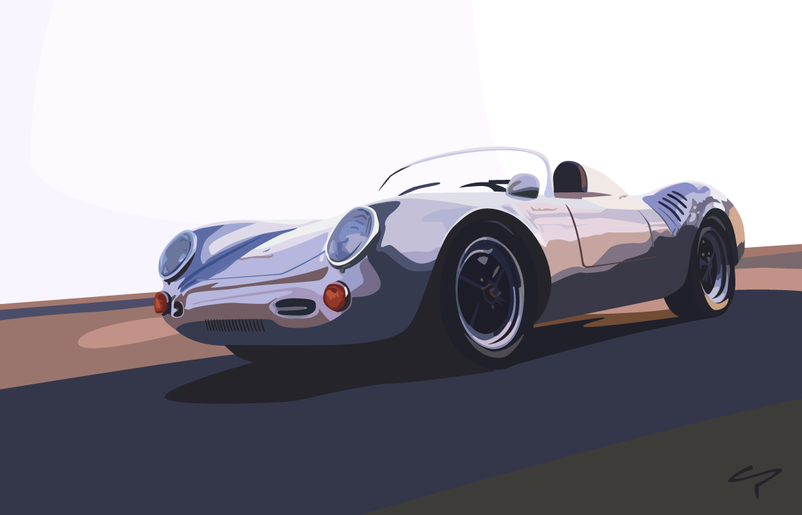 Porsche 550 spyder by gundug on deviantart