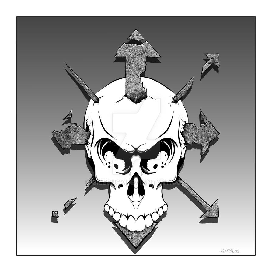 Chaos Skull PT.2 by Bilesuck on DeviantArt