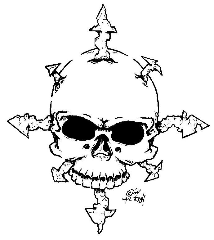 Skull and Chaos by Bilesuck on DeviantArt