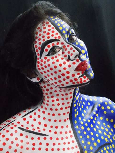 Pop Art Body Painting By Bfcreations On Deviantart