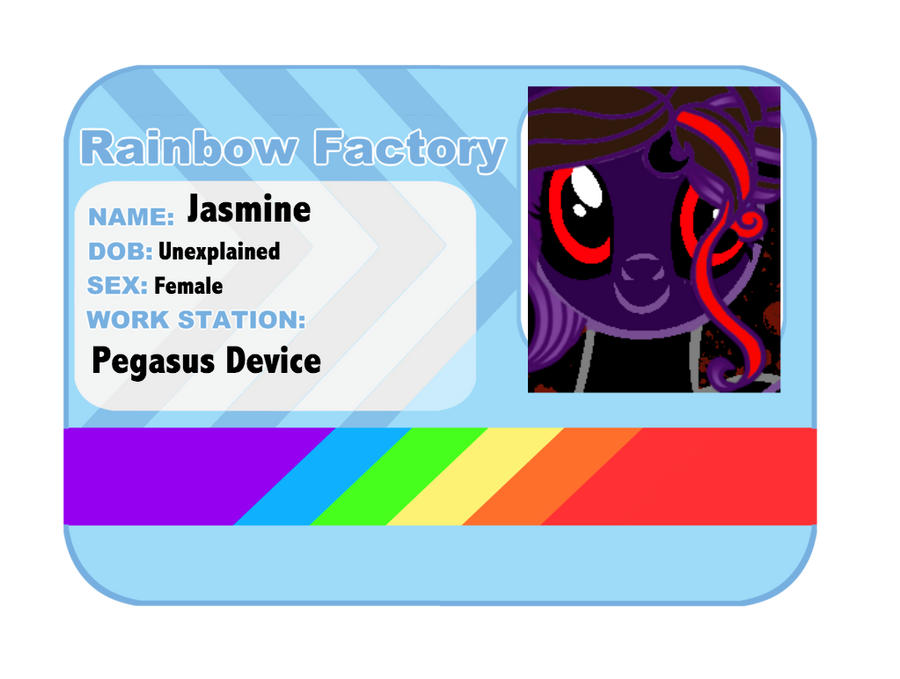Jasmine ID card by Jas5576