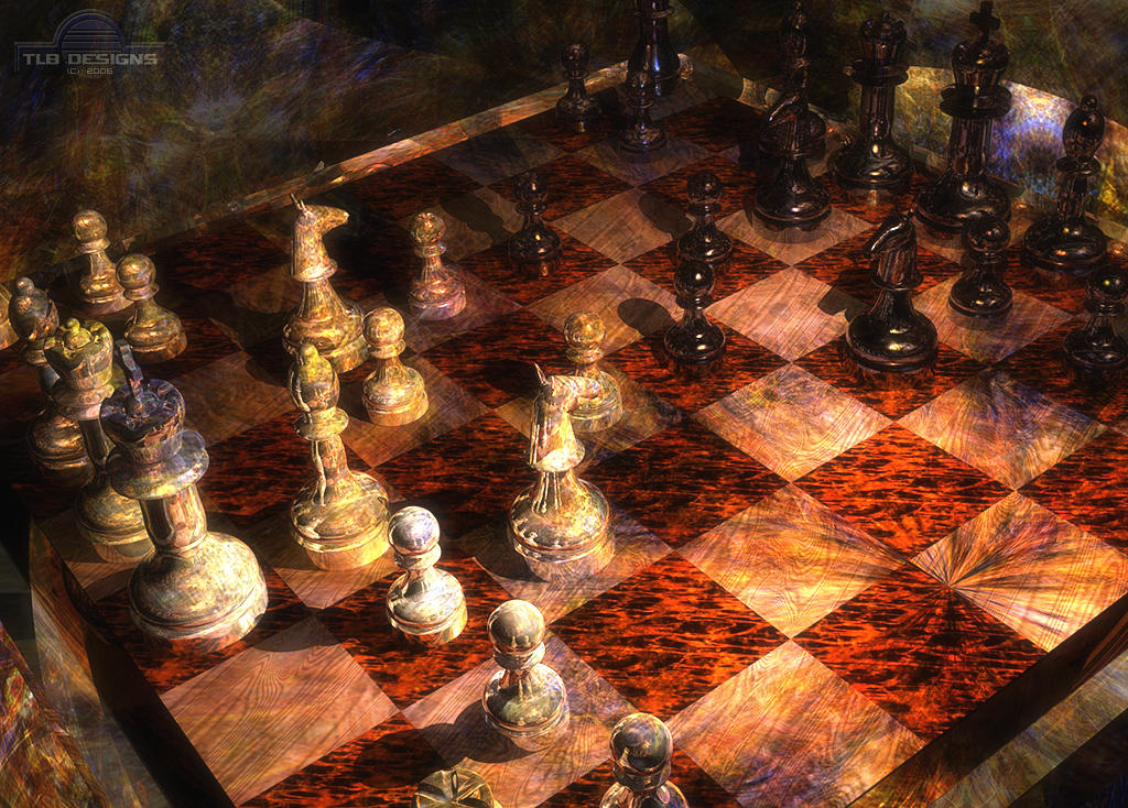 New Chess Wallpaper by TLBKlaus