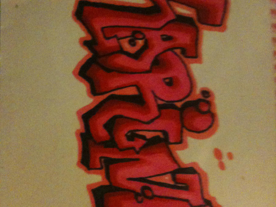 Graffitis de nombres de karina , Imagui