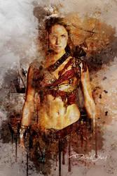Spartacus Characters Digital Art