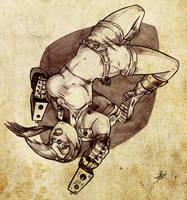 Lara Croft by Chivohit