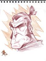 samurai jack by Chivohit