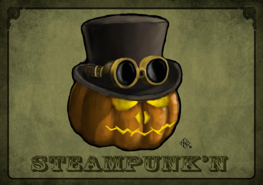Steampunk'n by SiriusArtWorks