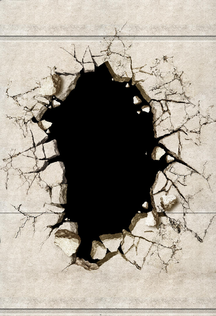 wall cracked by salawat shiadesigns on deviantart