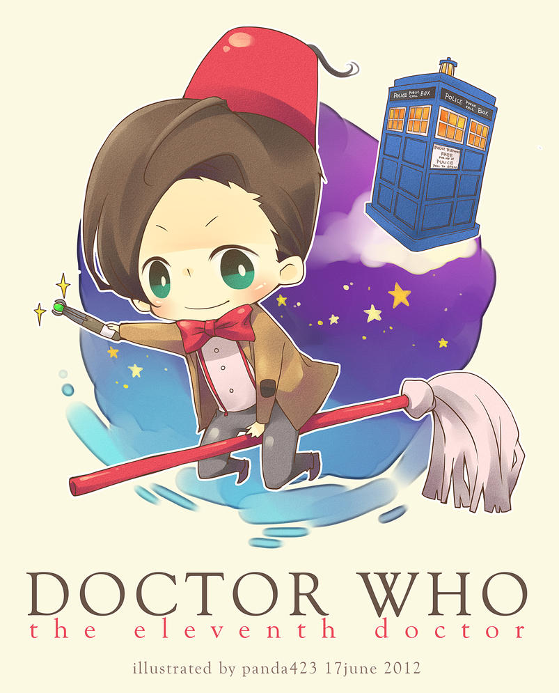doctor who the 11th doctor by panda423 on deviantart