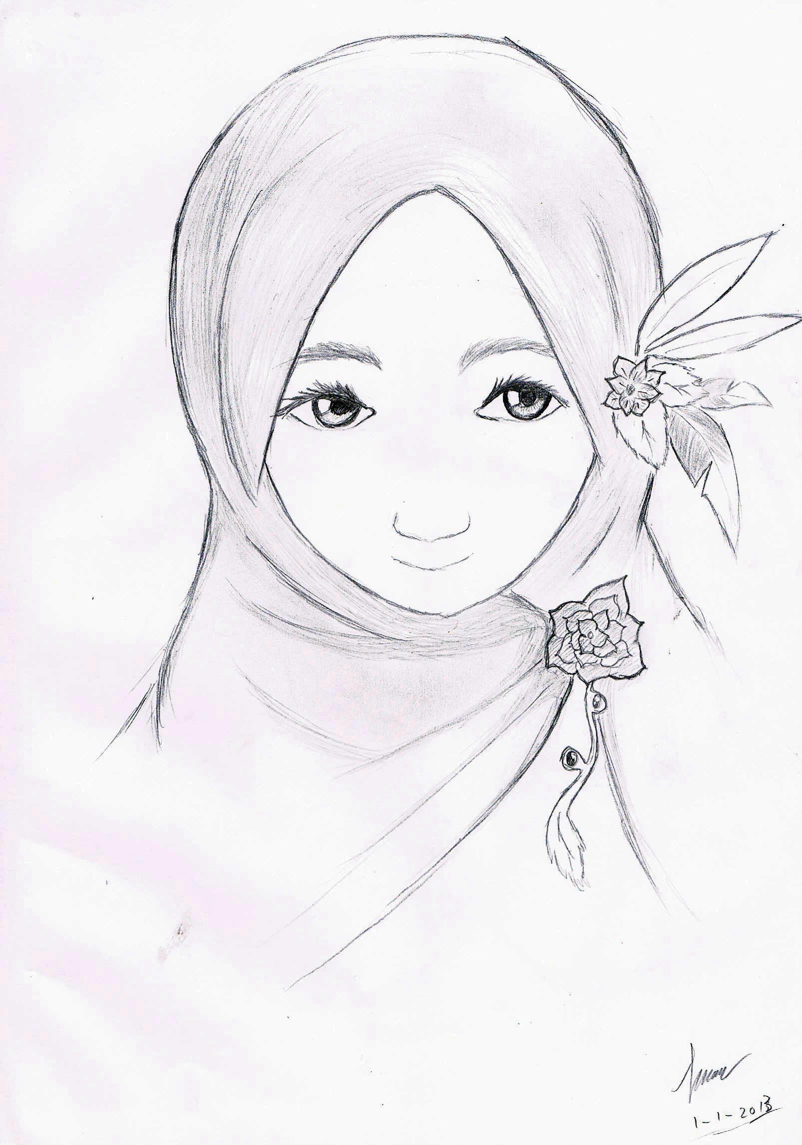Anime Hijab Dari Belakang By Raptorscyte On Deviantart