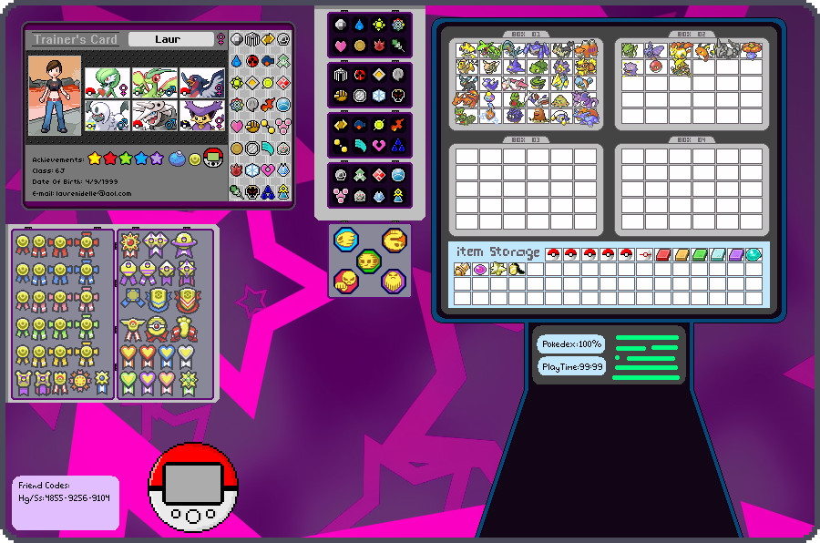 make a pokemon trainer card online free