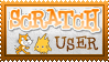 Scratch User Stamp by Idellechi
