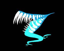 Toothy (blue) by Twerkzone