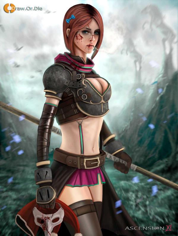 Aenir's Ascension by SPARATIK