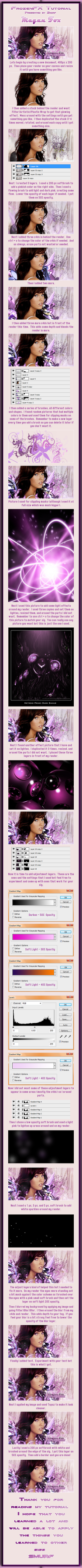 Megan Fox Tutorial by GfxSmurf