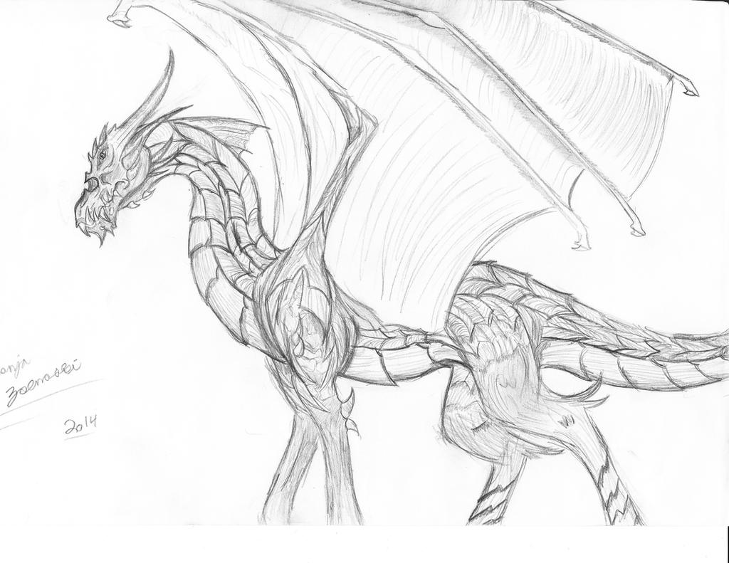 Fire Dragon Wings Drawing | www.imgkid.com - The Image Kid ...