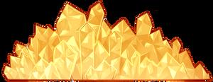 Decorative Crystals (Gold - F2U!)