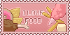 I Love Food (Stamp) by DaniGhost
