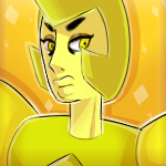 Yellow Diamond Icon (FREE TO USE! READ DESC.) by DaniGhost