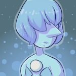 Blue Pearl Icon (FREE TO USE! READ DESC.) by danighost