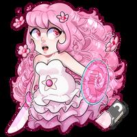 (Steven Universe) Rose Quartz Chibi by DominickLuhr