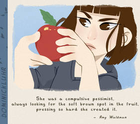 [P] Compulsive Pessimist by DominickLuhr