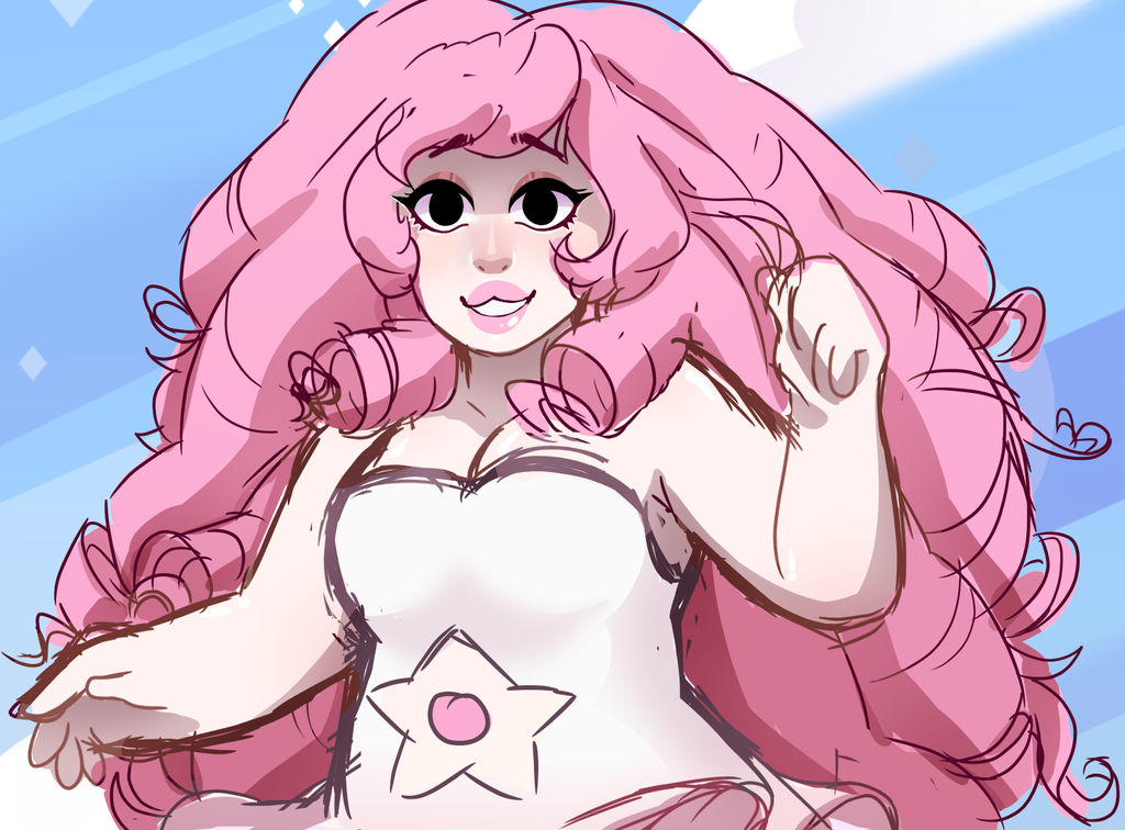 Just a lil Rose sketch/kinda screenshot redraw? Ref:   more: