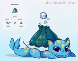 [Pokefusion] Vaporbasaur