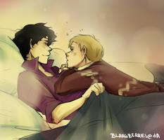 Sherlock x John by blargberries
