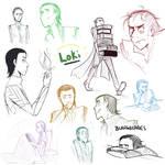 Loki Sketch Dump