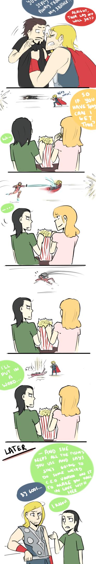 Jealous by blargberries