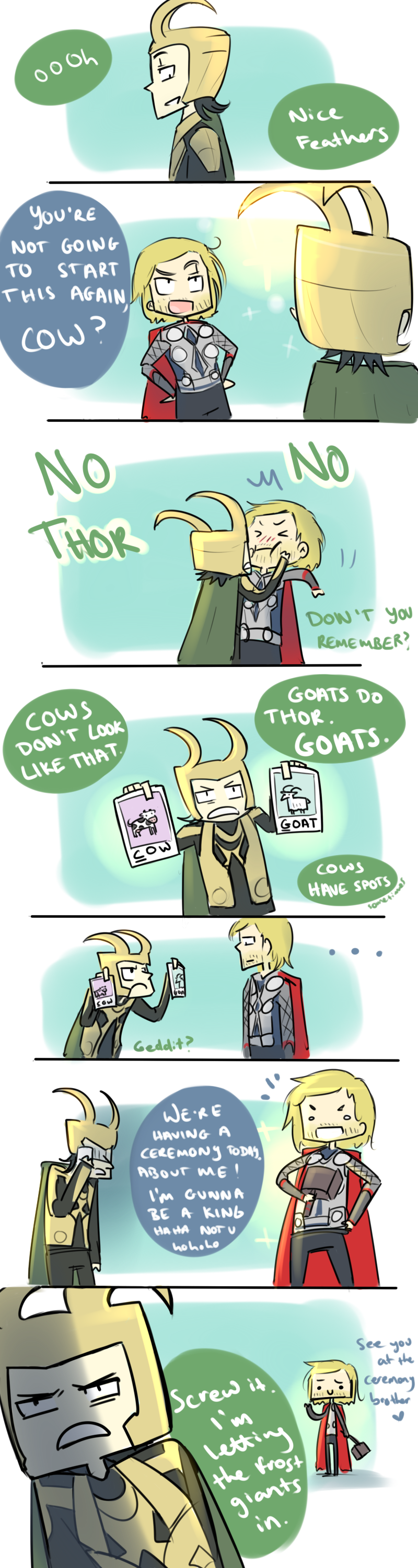 Asgardian Lessons: Animal Studies by blargberries