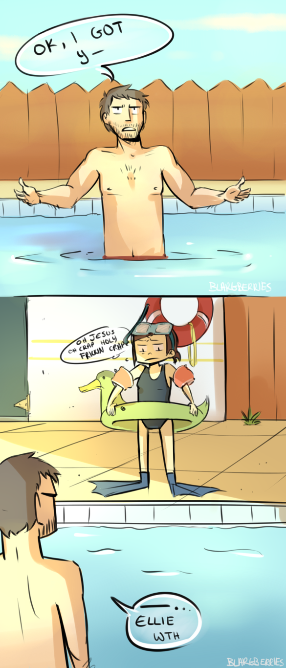 Swimming Lessons by blargberries