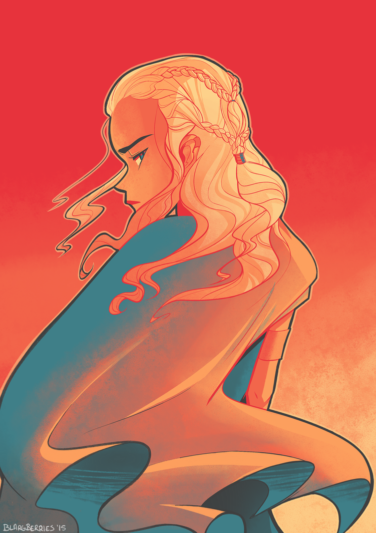 Daenerys by blargberries
