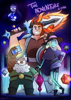 The Adventure Zone by blargberries
