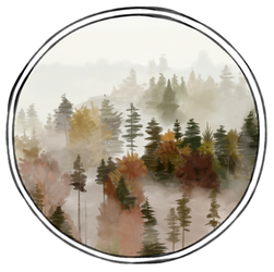 Foggy Forset by GrilledandCheesed